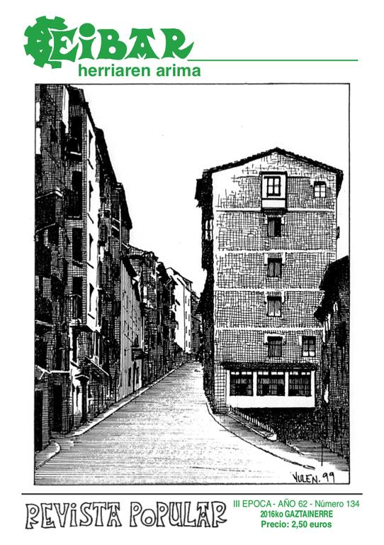 El último número de la revista Eibar ya está en la calle con la editorial de despedida de Margarita Olañeta.