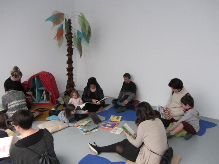 Espacio literario Itsaspeko bihotzak. Plazas libres aún en la sesión para Familias