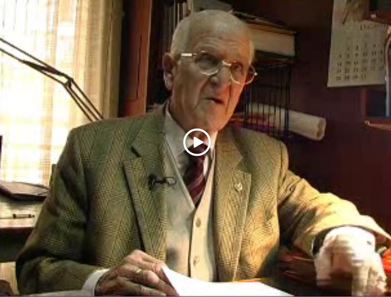 Ha fallecido el arquitecto Hermenegildo Bracons Huguet (1923-2018), el artífice del Plan General de Eibar de 1959.