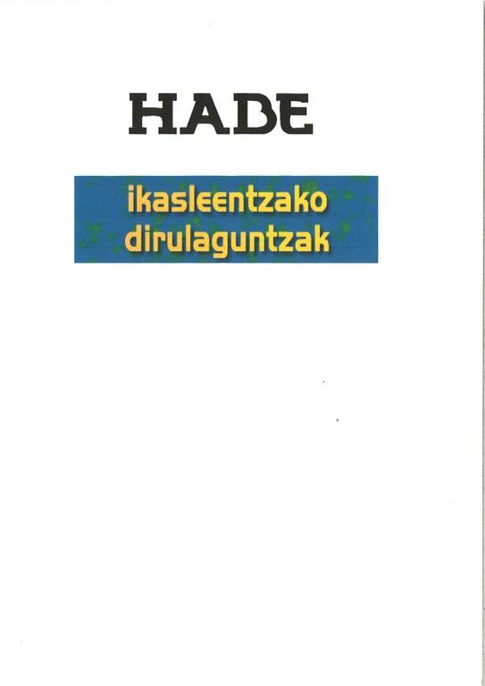 Abierto el plazo para solicitar las ayudas de HABE