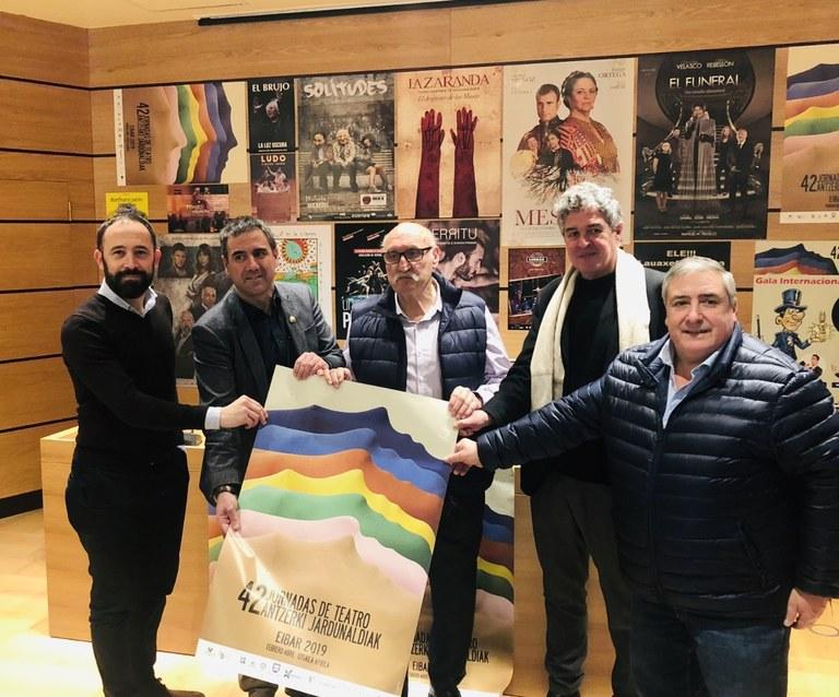 La 42º edición de las Jornadas de Teatro de Eibar tendrá lugar del 26 de febrero al 7 de abril