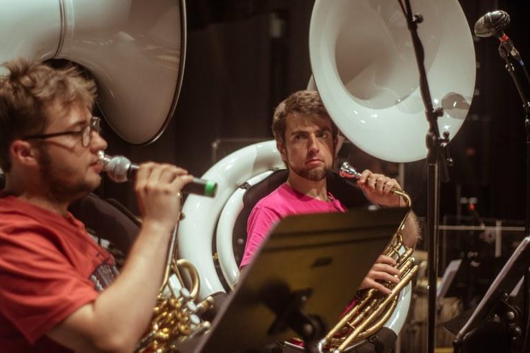 La charanga Ustekabe de Eibar actualiza y difunde el patrimonio popular musical eibarrés