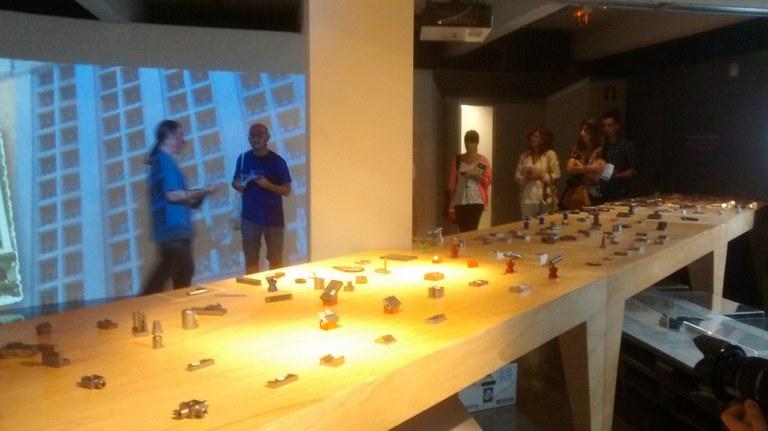 La intervención de Ibon Aranberri se prolonga hasta finales de octubre y acoge dos visitas guiadas con el artista