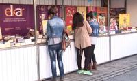 La plaza de Unzaga acogerá una nueva edición de la Feria del Libro del 12 al 22 de octubre