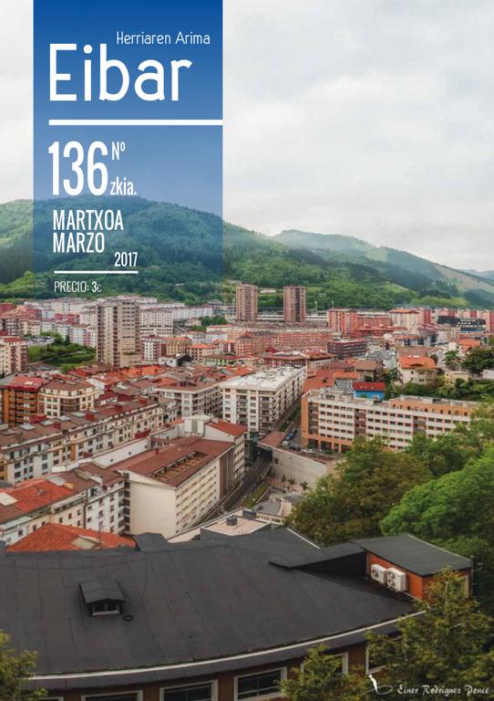 La revista Eibar sigue adelante con un gran cambio de imagen: 44 páginas a todo color.