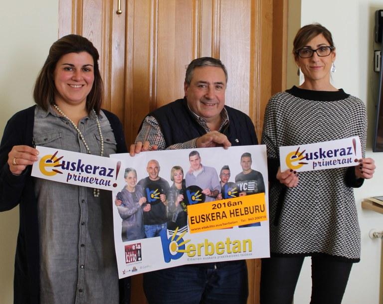 """Presentada la campaña """"Dendariak eta Ostalariak Berbetan"""" 2016"""