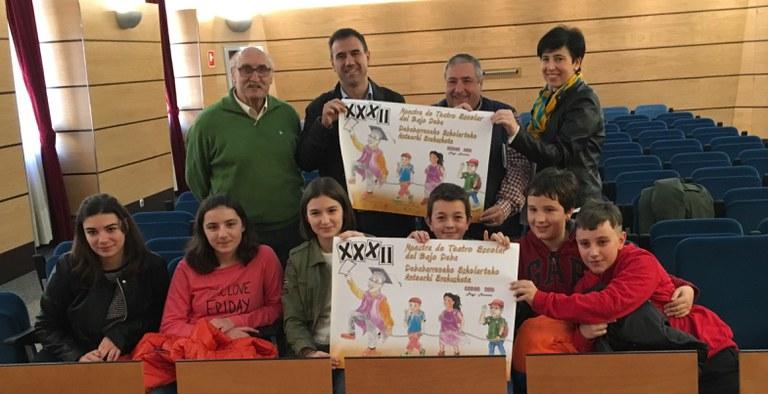 Presentada la XXXII Muestra de Teatro Escolar del Bajo Deba