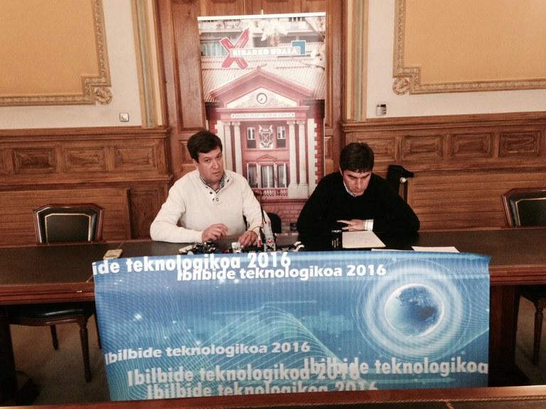 "Presentados los talleres del programa ""Ibilbide teknologikoa 2016"""