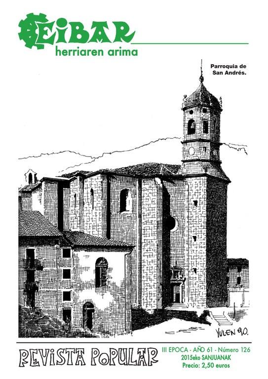 Se ha publicado el número de junio de la Revista Eibar