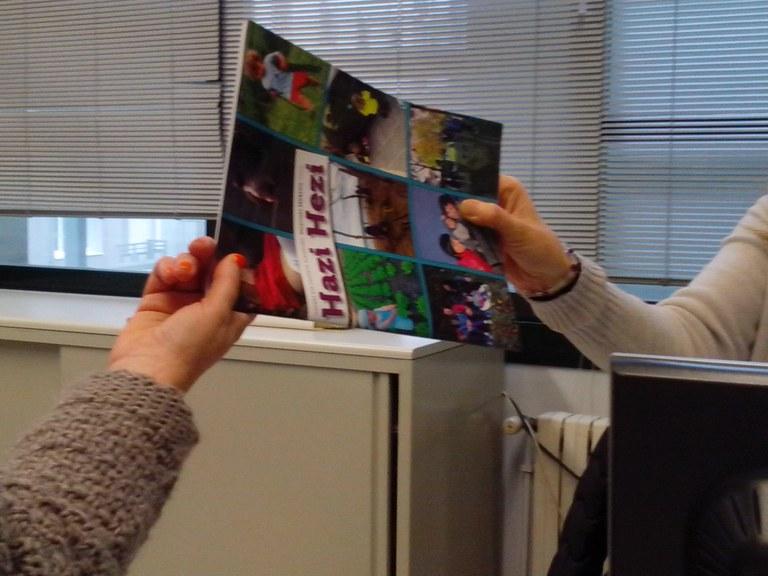 Se regalará la revista Hazi Hezi en Pegora a las familias con hijos o hijas recién nacidos/as