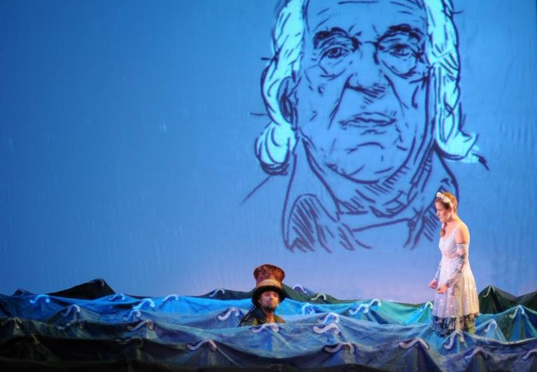 """Suspendida la representación de la obra """"Alberti, un mar de versos"""""""