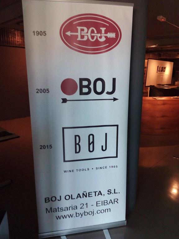 Últimos días de la exposición '1905 BOJ 2015' de BOJ Olañeta