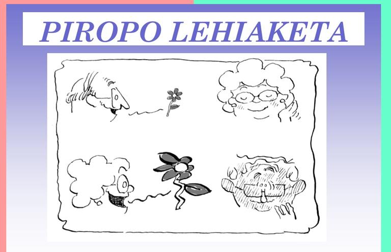 Vota en el concurso de piropos en euskera