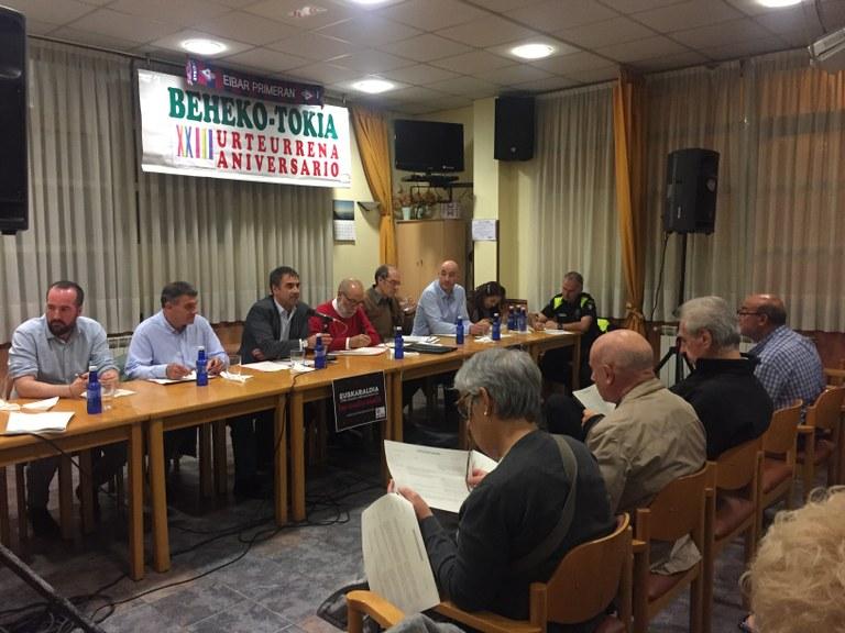 Cerca de 400 personas han participado este año en las siete reuniones de barrio y han presentado alrededor de 300 propuestas al Ayuntamiento