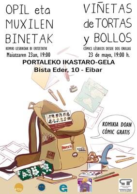 Presentación de cómic y coloquio: Viñetas de Tortas y Bollos. Cómics lésbicos desde dos orillas.