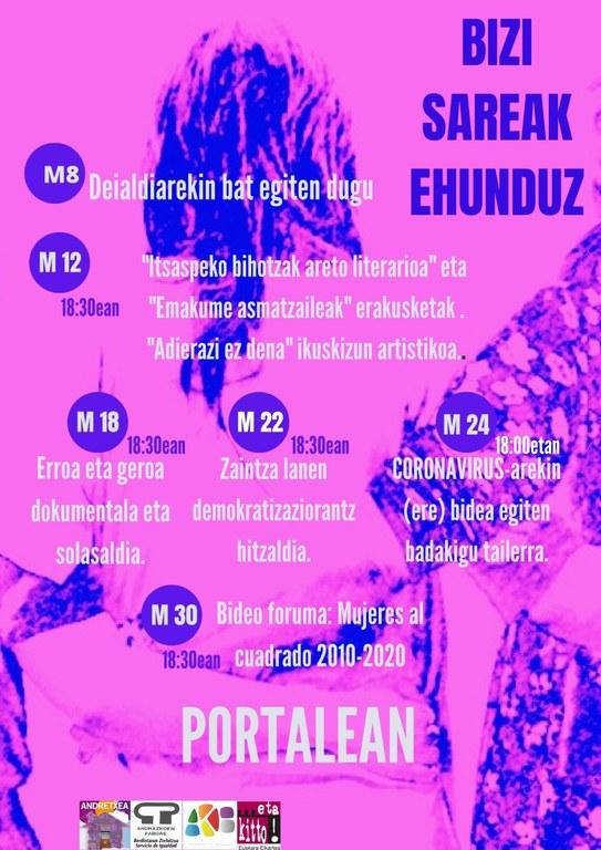 programación 8 marzo