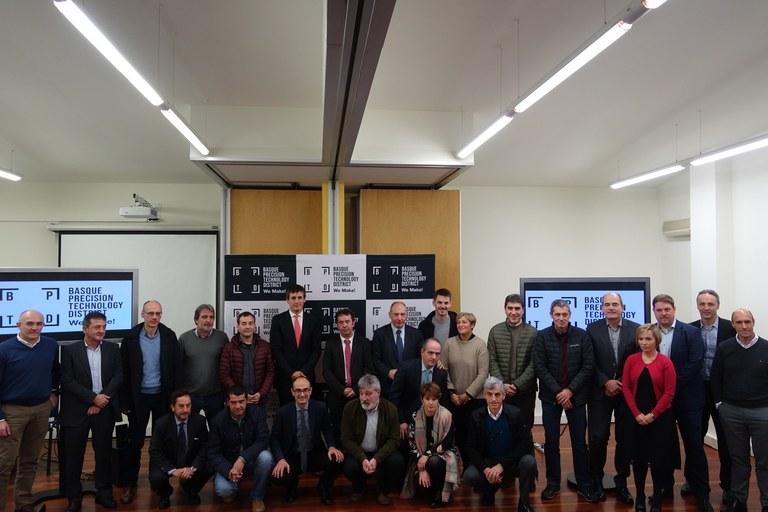'Basque Precision Technology District', nueva marca que apuesta por impulsar el sector industrial de Debabarrena