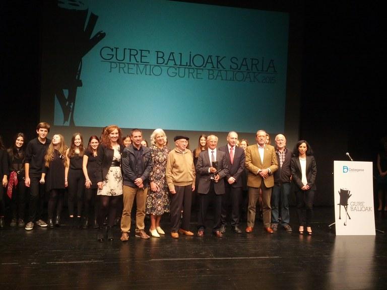 El plazo de presentación de candidaturas al Premio Gure Balioak está abierto hasta el 30 de junio