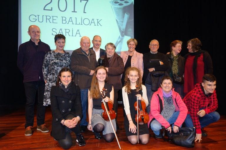Abierto el plazo para presentar candidaturas a la novena edición del Premio Gure Balioak