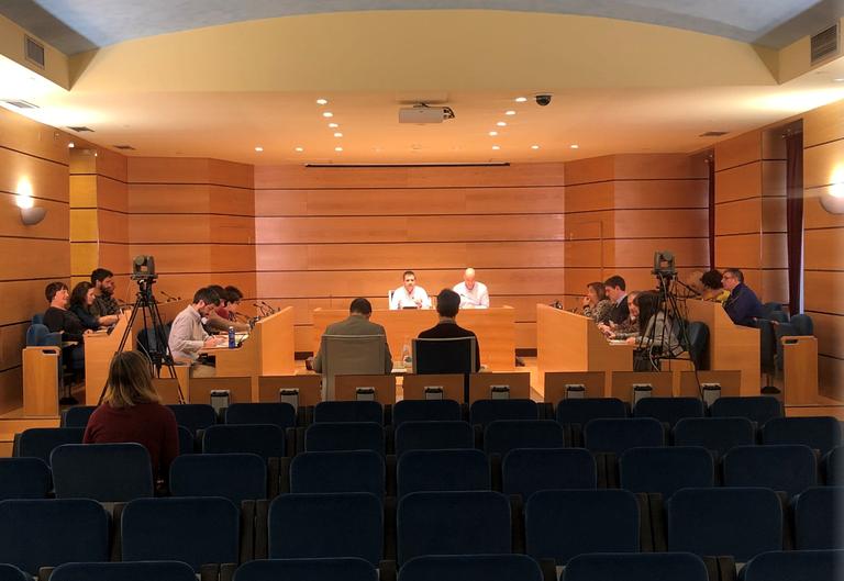 Imagen del Pleno Municipal extraordinario, celebrado el 2 de marzo de 2020.