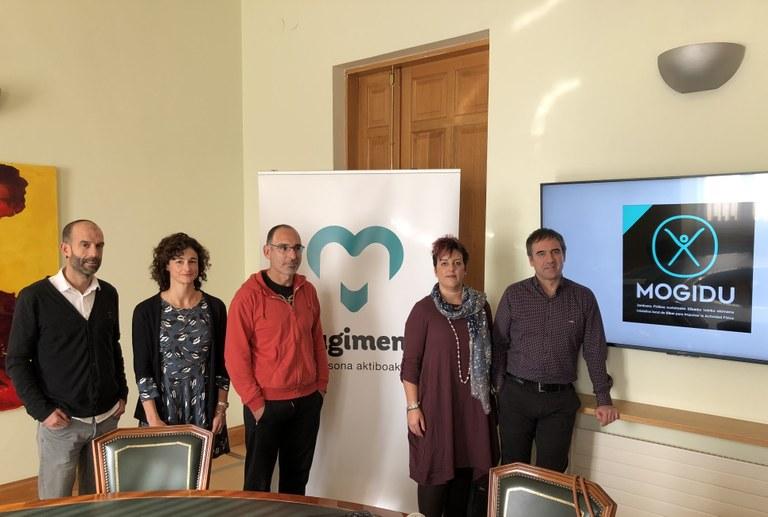 Arranca en Eibar la iniciativa 'Mogidu' para impulsar la actividad física