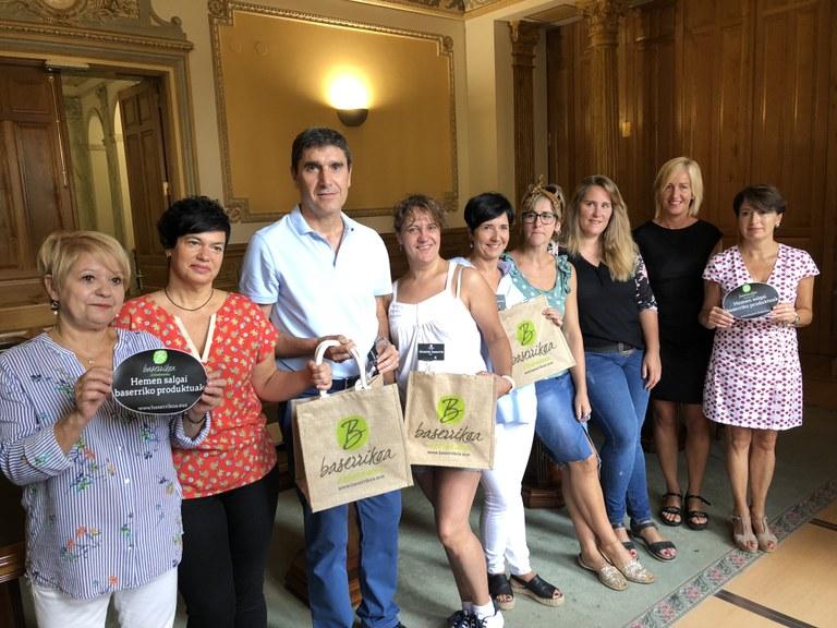 'Baserrikoa Debabarrena', iniciativa para fomentar el consumo de producto local y de temporada