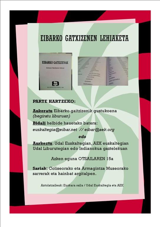Concurso de apodos de Eibar