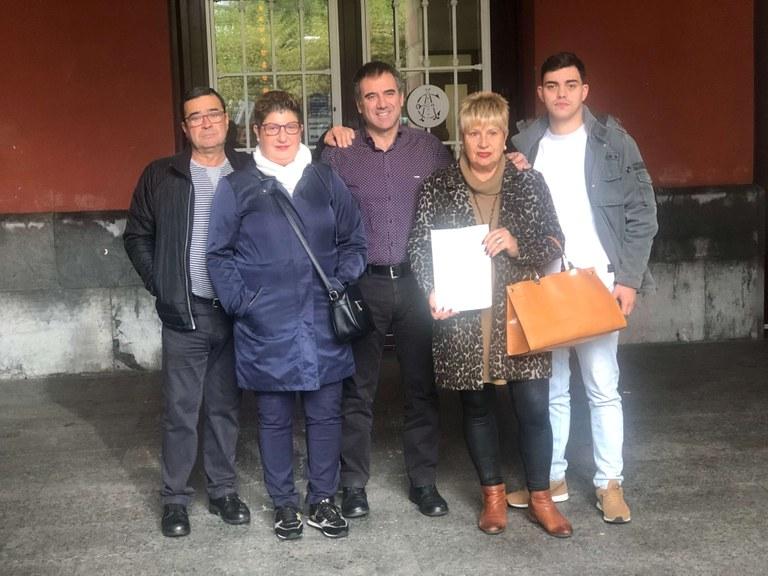 Condenan a prisión permanente revisable al acusado del doble asesinato de la eibarresa Raquel López y su hijo