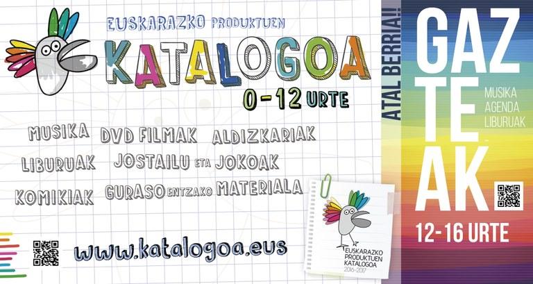 Disponible en papel y a través de Internet el catálogo de productos en euskera