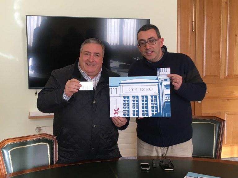 "Disponible la tarjeta de descuentos ""Coliseoaren laguna"""