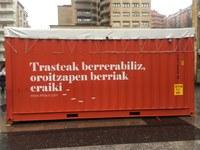 Dos contenedores marinos mostrarán la importancia de reutilizar y reciclar artículos de la vida diaria para concienciar a la ciudadanía