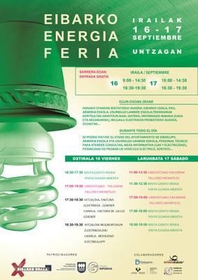 Eibar acoge el viernes y el sábado una feria que se centrará en las energías renovables y la eficiencia energética