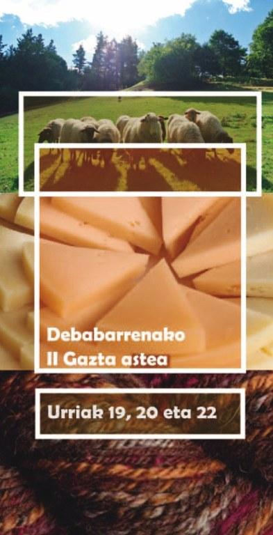 Eibar acoge por segundo año consecutivo la Semana del Queso de Debabarrena