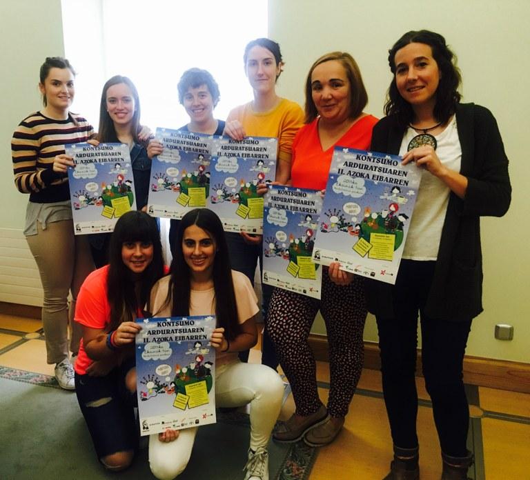Eibar acogerá la II Feria de Consumo Responsable el próximo sábado, 3 de junio, en la plaza del ambulatorio