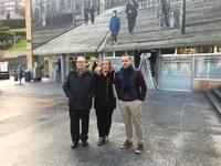 Eibar cuenta con varias fotografías instaladas en distintos edificios relacionadas con la memoria histórica