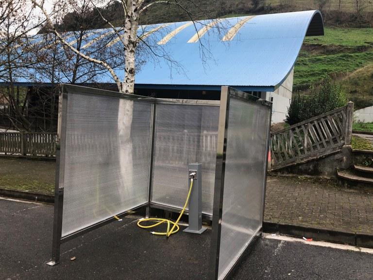 Eibar dispondrá de dos puntos de limpieza de bicicletas en Azitain y en Ubitxa