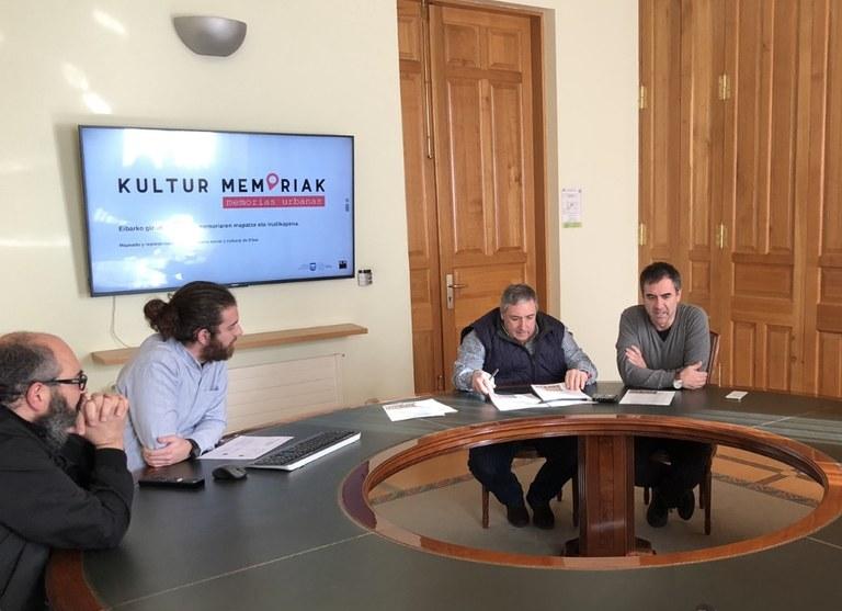 """Eibar formará parte del proyecto """"Kultur memoriak - Memorias urbanas"""" para preservar el patrimonio y la memoria sociocultural de los/as vecinos/as"""