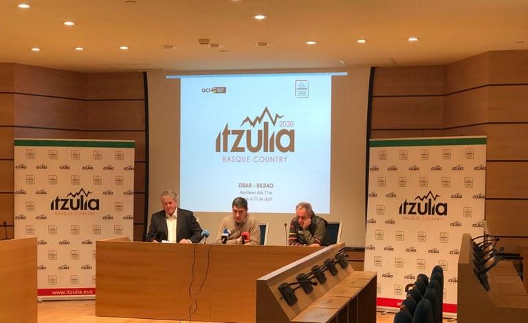 Eibar ha acogido la presentación de la 60º edición de la Itzulia Basque Country