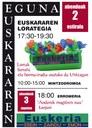 El Ayuntamiento de Eibar se suma a la conmemoración del Día Internacional del Euskera