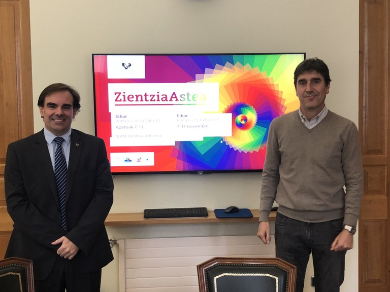 Eibar se suma a la Semana de la Ciencia 2018