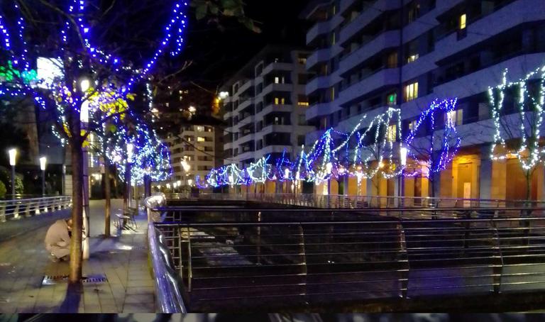 Eibar volverá a contar este año con iluminación navideña.