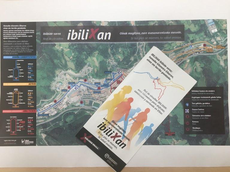 Eibar ya tiene en marcha su red de circuitos saludables