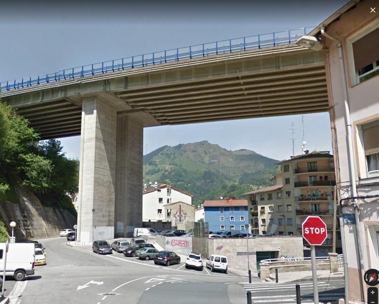 Imagen del viaducto de Ubitxa.
