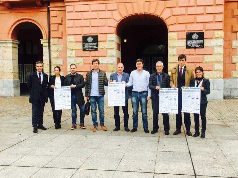 """El Astelena acogerá el próximo sábado día 23 """"Gazterobotika"""", el primer Campeonato de Robótica Educativa de Euskadi"""