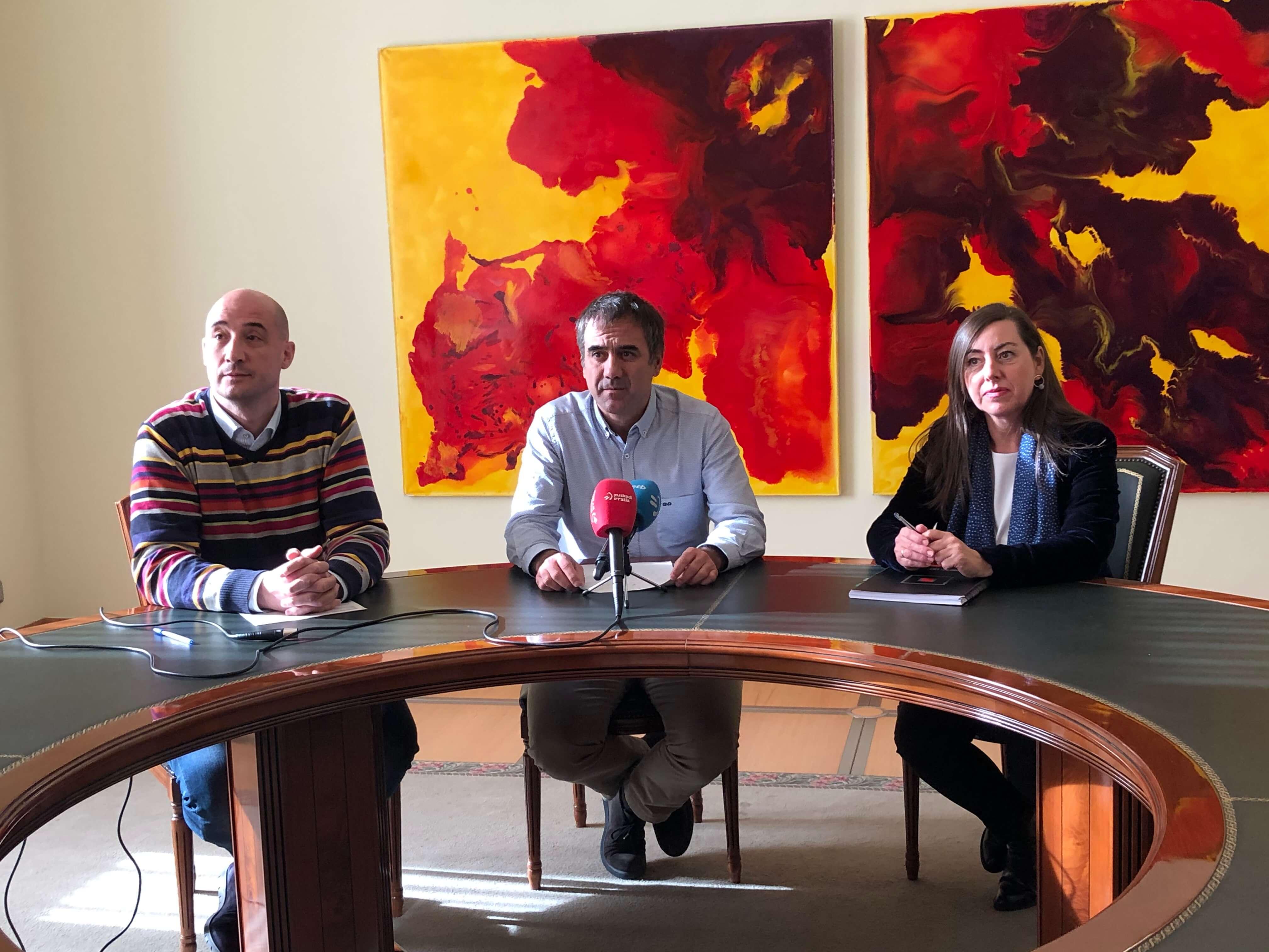 El Ayuntamiento de Eibar cederá once viviendas para realojar a los/as vecinos/as de los números 15 y 17 Arragueta