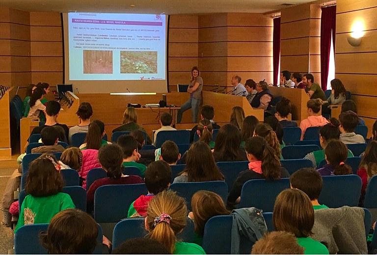 El Ayuntamiento de Eibar ha acogido el Pleno de la Agenda 21 Escolar