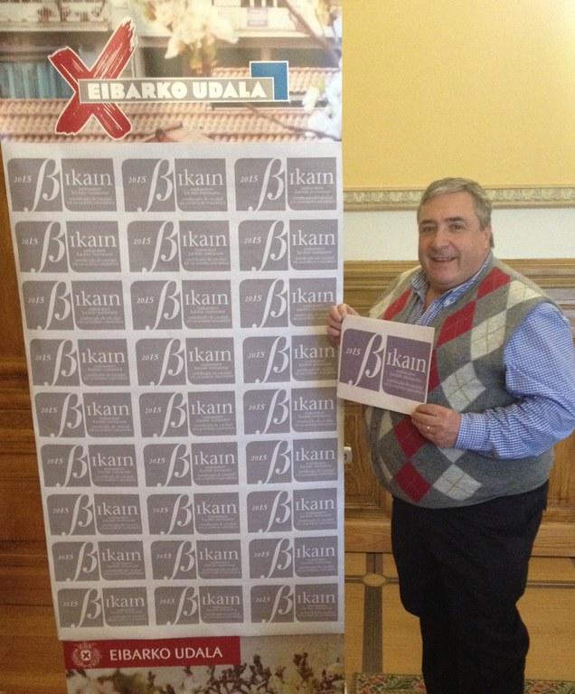 El Ayuntamiento de Eibar logra el Certificado de Calidad en la Gestión Linguística, Bikain, en concreto, el certificado Plata