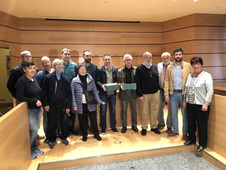 El Ayuntamiento de Eibar presenta en el juzgado una querella contra los crímenes del franquismo