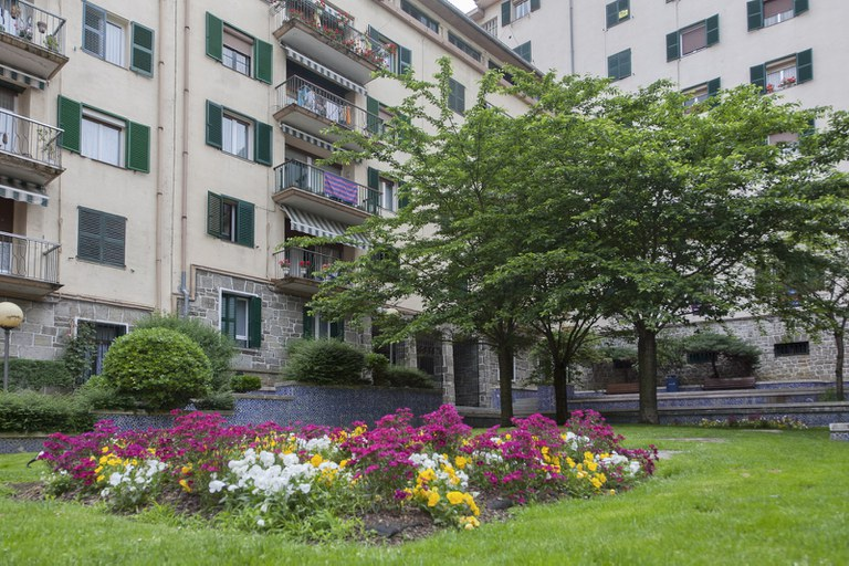 El Ayuntamiento de Eibar saca a licitación la reforma integral de la zona de los jardines de Bidebarrieta para mejorar el tránsito peatonal en el lugar