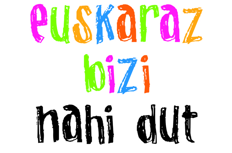 El Ayuntamiento de Eibar se adhiere a la campaña Euskaraz bizi nahi dut